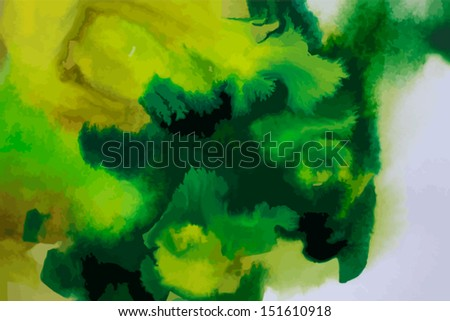 water color abstract background - stock vector