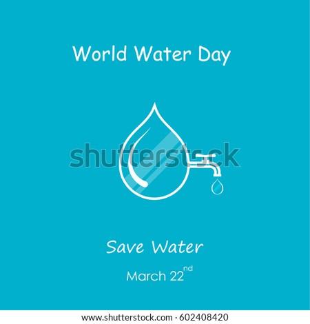 Water drop logo stock photos