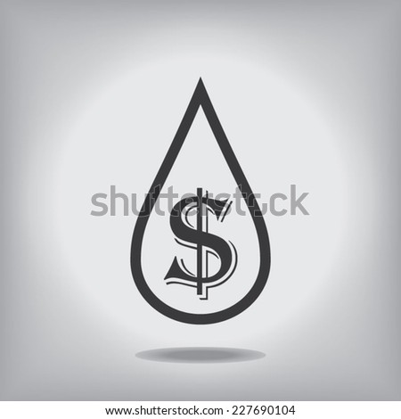 Water Drop Dollar