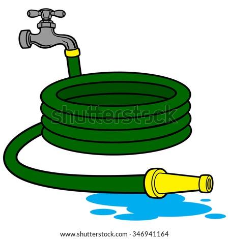 Stock Images Similar To Id 55111807 Garden Hose Cartoon