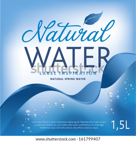 Water Label Stock Images, Royalty-Free Images & Vectors | Shutterstock