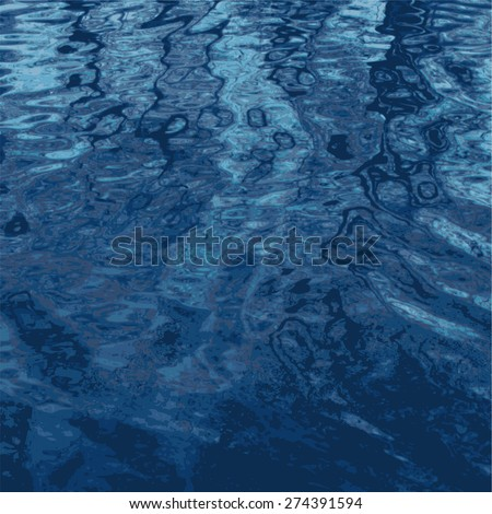 water reflections. abstract multicoloured background. vector illustration. - stock vector