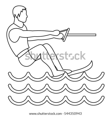 jet skis outline Jet ski icons in 15 styles: color, outline, filled, tiny, etc each style has an equal size, line style, and level of detail.