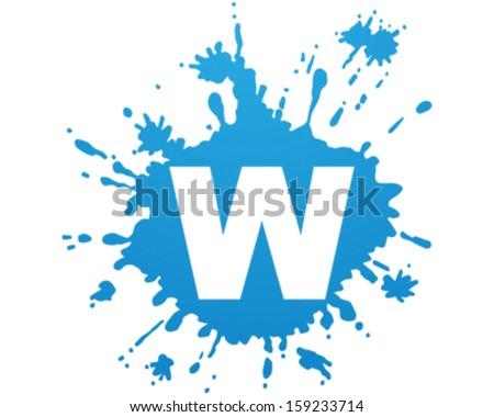 Water Splash - stock vector
