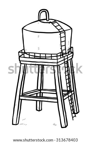 Cartoon Water Tank Stock Images, Royalty-Free Images & Vectors | Shutterstock