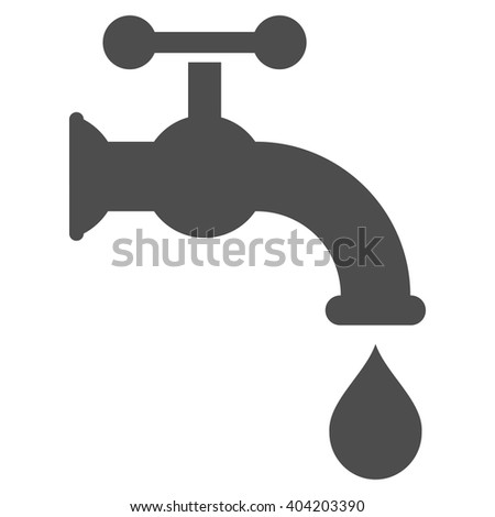 Water Tap vector icon.