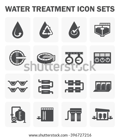 Water Treatment Plant Water Filter Vector Stock Photo Photo Vector