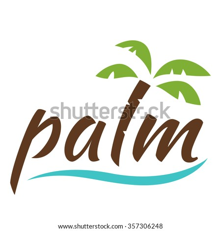 Palm Tree Logo Stock Images Royalty Free Images Vectors