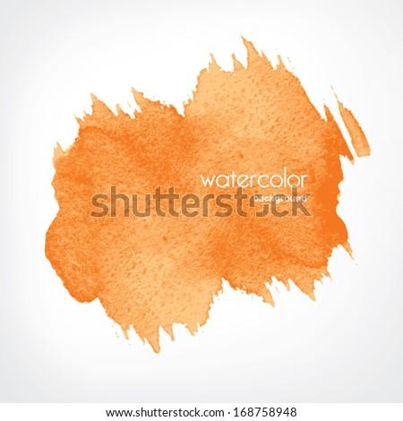 Watercolor background  in vector  - stock vector