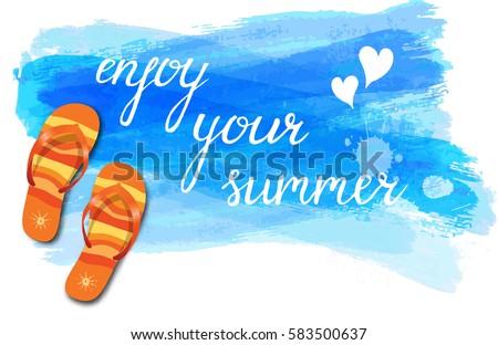 Enjoy Your Summer Clip Art – Cliparts