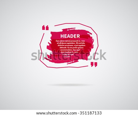 Pink Quote Box Stock Images, Royalty-Free Images & Vectors ...