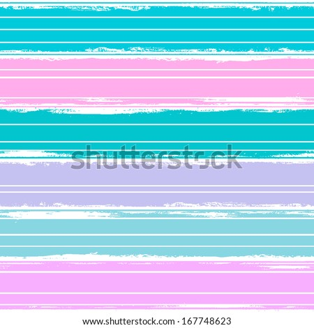 Watercolor striped seamless