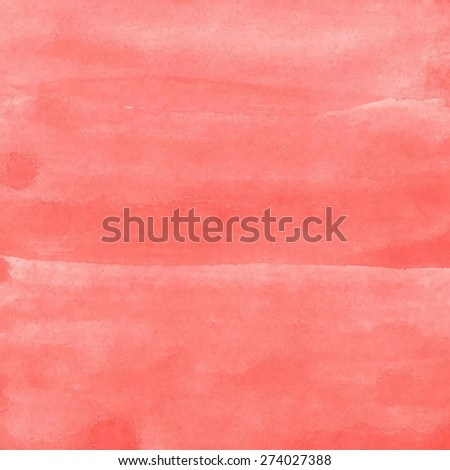 Watercolor vector background - stock vector