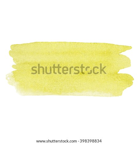 Watercolor vector hand paint texture, abstract isolated on white background, watercolor textured backdrop, drop brush smears