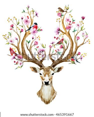 reindeer antlers transparent tumblr