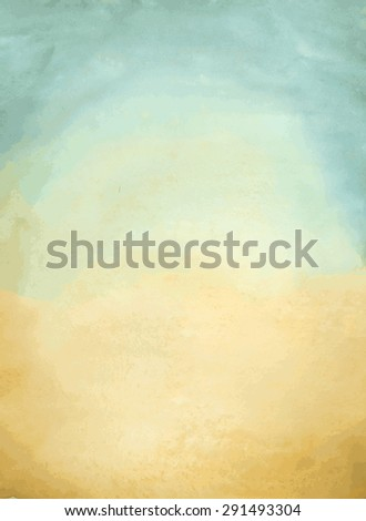 watercolor vector vintage background
