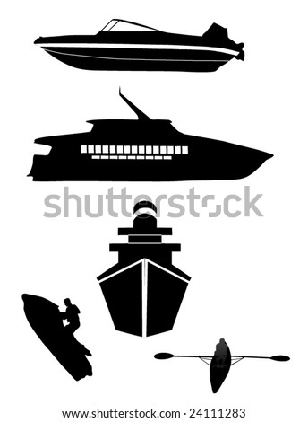 watercraft silhouettes (2nd edition)