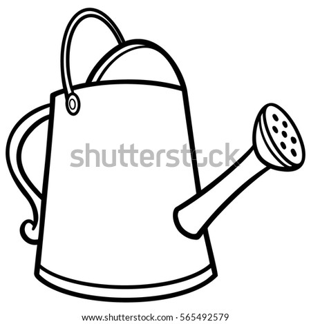 watering can illustration stock vector hd royalty free 565492579 rh shutterstock com
