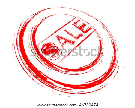 watermark for sale - stock vector