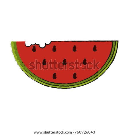 watermelon fruit slide stock vector 760926043 shutterstock