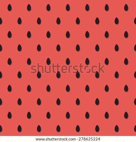 watermelon pattern design/ vector illustration - stock vector