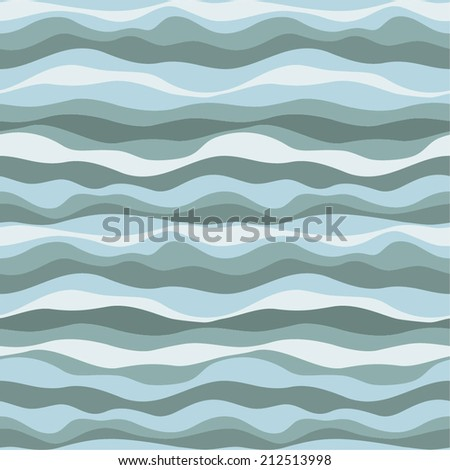 Wave background. Vector pattern