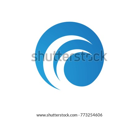 wave logos symbol stock vector 773254606 shutterstock