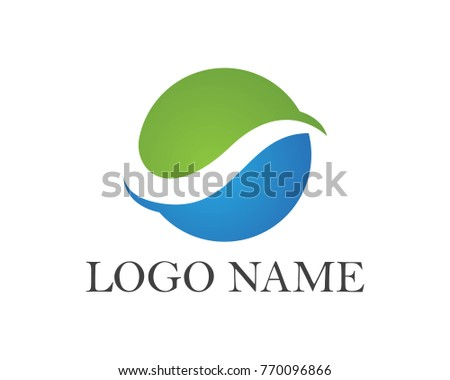 wave logos symbols stock vector 2018 770096866 shutterstock