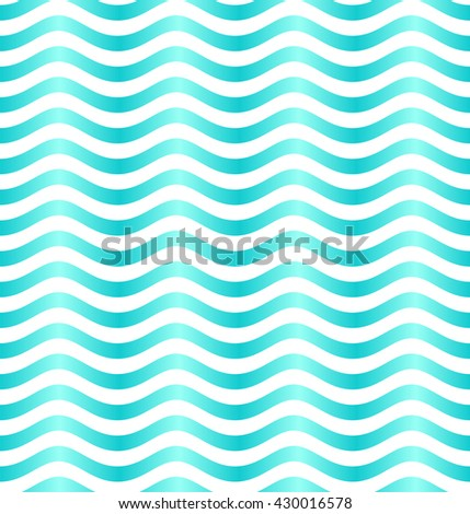 Wave pattern. Seamless background. Marine seamless pattern. Vector illustration.