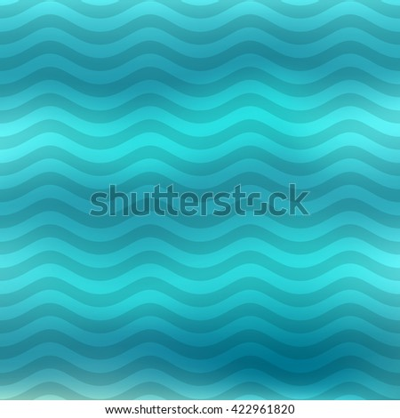 Wave pattern.  Vector illustration.