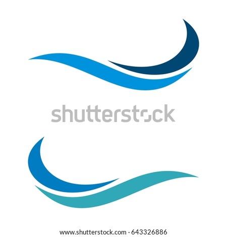 wave swoosh logo template stock photo photo vector illustration rh shutterstock com swoosh logo nike swoosh logo nike