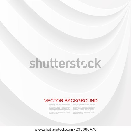 Waves and Lines Paper Background  - stock vector
