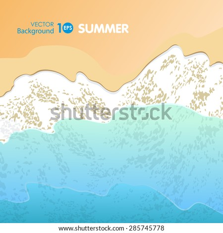 Waves. Vector eps 10. - stock vector