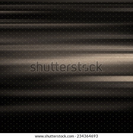 Wavy metallic background. Steel plate template. Abstract pattern. Vintage style. Vector Illustration.