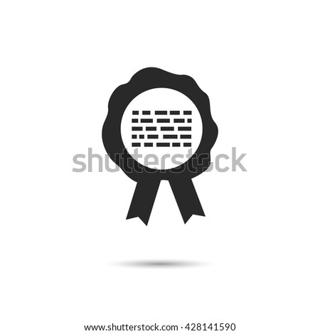 Wax print. Wax print icons. Wax print symbol. Vector illustration - stock vector