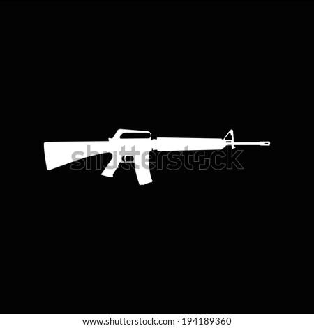 weapon - stock vector