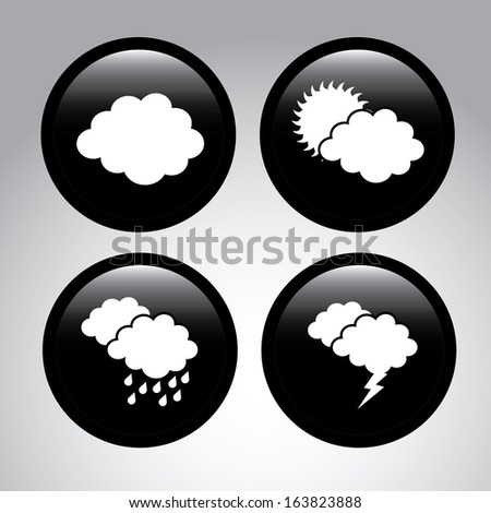 weather coins over gray background vector illustration