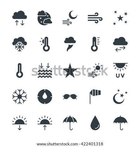 Weather Cool Vector Icons 2