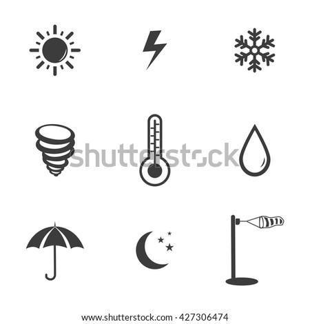 Weather icon. Weather icon Vector. Weather icon Art. Weather icon eps. Weather icon logo. Weather icon Sign. Weather icon Flat. Weather icon app. Weather icon UI. Weather  icon web. Weather  icon JPG - stock vector
