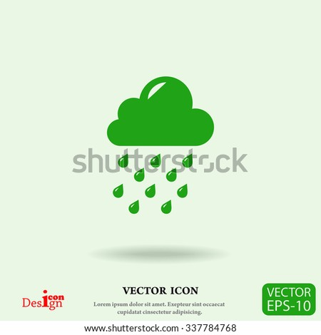 weather vector icon - stock vector