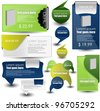 web banners and pointer collection - stock vector