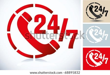 web button - stock vector