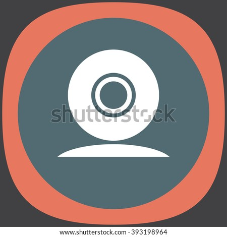 web cam vector icon