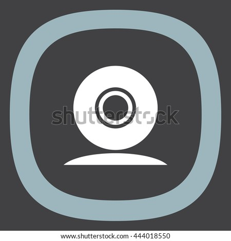 Web cam vector icon. Conference camera sign. Security cam symbol