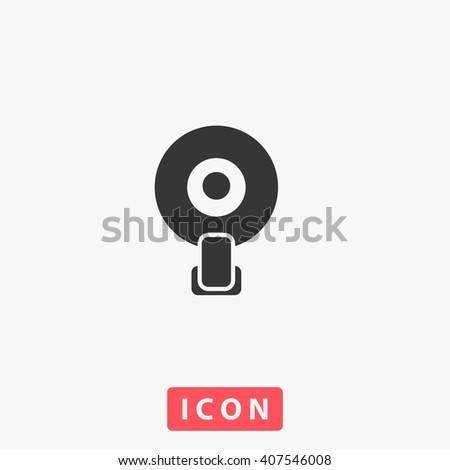 web camera Icon, web camera Icon Vector, web camera Icon Art, web camera Icon eps, web camera Icon Image, web camera Icon logo, web camera Icon Sign, web camera icon Flat, web camera Icon design - stock vector