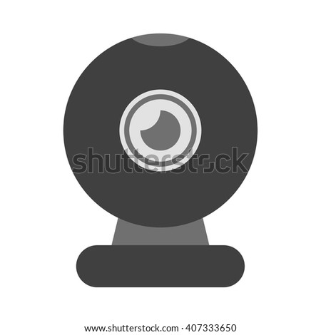 Web camera icon. Web camera icon vector. Web camera icon simple. Web camera icon app. Web camera icon web. Web camera icon logo. Web camera icon sign. Web camera icon ui. Web camera icon flat. Camera  - stock vector