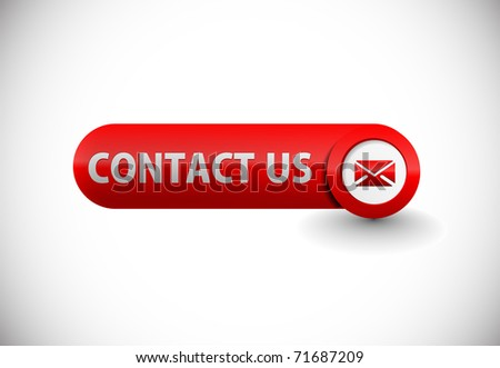 web contact icon design element. - stock vector