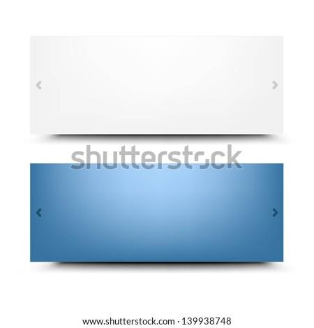 Web Design Frames With Gradient Mesh, Vector Illustration - stock vector
