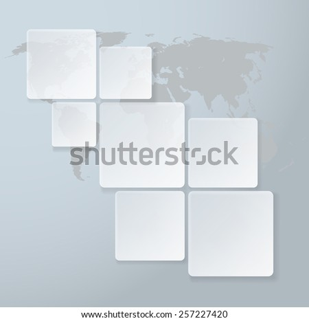 Web Design Infographic. Abstract Diagram. Vector illustration.  - stock vector