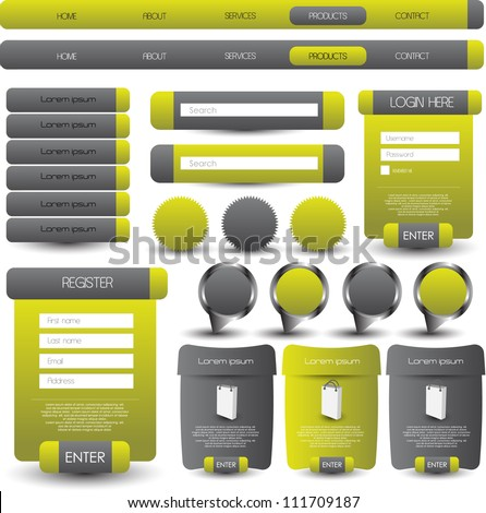 web designing element
